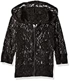Product review for Gia-Mia Dance Big Girls' Glitzy Lace Hoodie Jacket Dance Stretch Mesh Jazz Hip Hop Performance Team