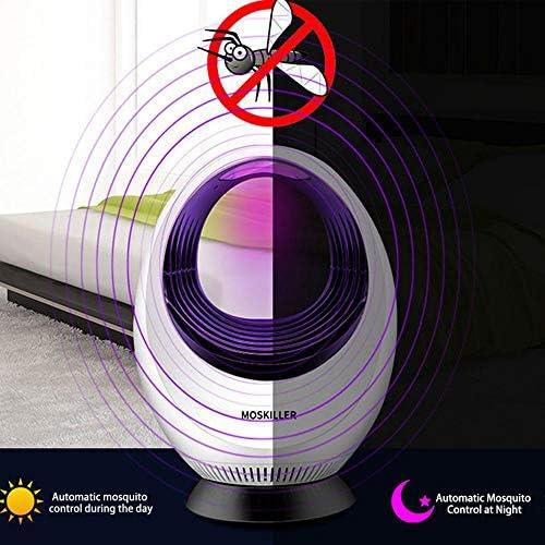 Bug zapper Safe anti-chimique UV physique moustique tueur pi/ège pour chambre cuisine Bureau int/érieur et ext/érieur-non toxique pas de radiation USB Power Photocatalyst anti moustique Killer lampe
