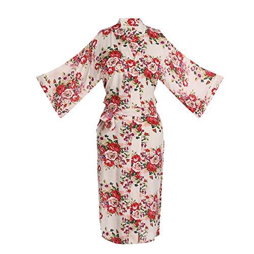 oriental silk dressing gown - 3