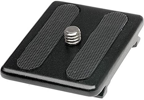 Induro Tripods QR0 Slide-In Quick Release Plate for Discontinued Heads Black