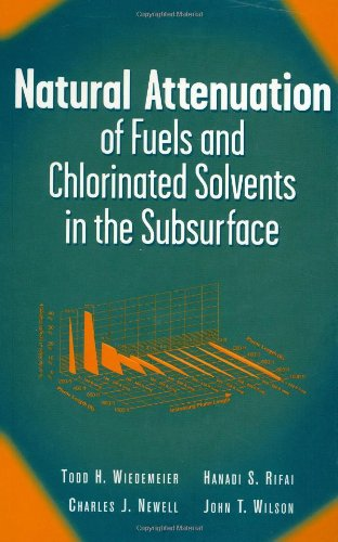 Natural Attenuation of Fuels and Chlorinated Solvents in the - Solvents Chlorinated