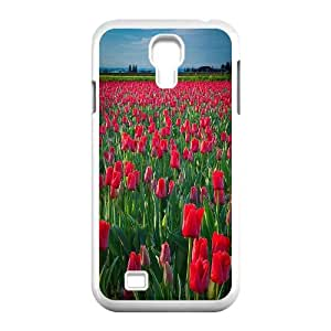 Chaap And High Quality Phone Case For SamSung Galaxy S4 Case -Beautiful Holland Tulip Pattern-LiShuangD Store Case 2