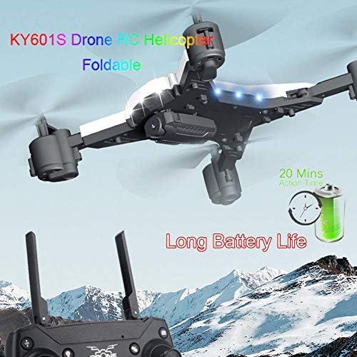 KY601S batteria lunga durata pieghevole foto aereo drone altezza attesa aereo a quattro assi WIFI trasmissione immagine telecomando aereo con batteria incorporata