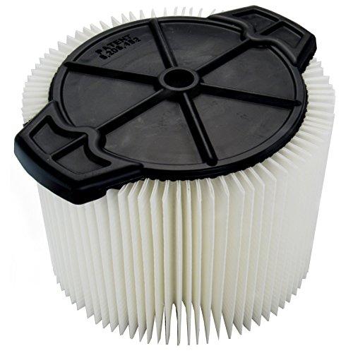 Ridgid VF3400 Pleated Filter For 4-4.5 Gal Vac by Ridgid