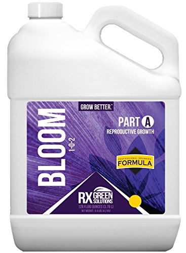 51nKXXSfDUL Rx Green Solutions Part A Bloom Reproductive Growth, 128-Ounce