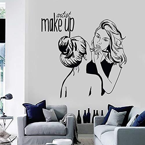 supmsds Maquillaje Mujer Tatuajes de Pared Artista ...