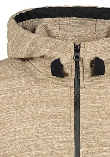 Cremallera Obito Hoodie Al Hombre Sudadera Dune 5409 Polar solid Capucha Tacto Para Forro Con Suave Chaqueta RAxnU8