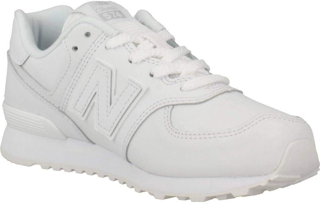 New Balance, GC574, Zapatillas Blancas para Mujer: Amazon.es: Zapatos y complementos