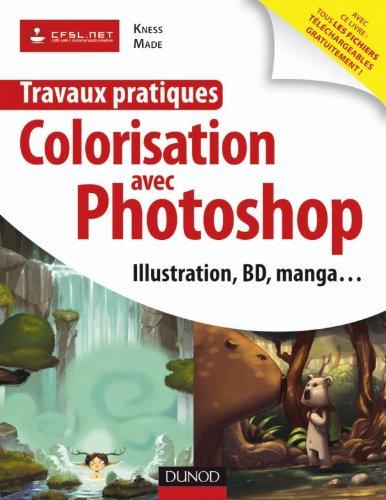 Travaux Pratiques Colorisation Avec Photoshop Illustration