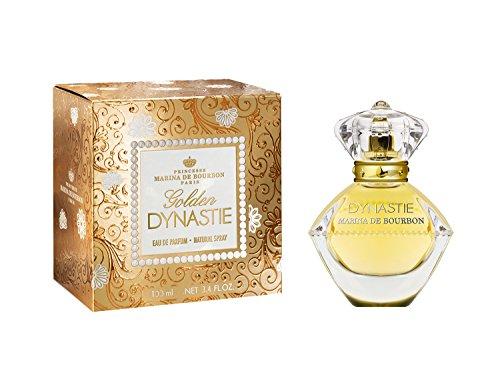 Marina De Bourbon Golden Dynastie Eau De Parfum Spray, 3.4 Ounce - Bourbon Edp