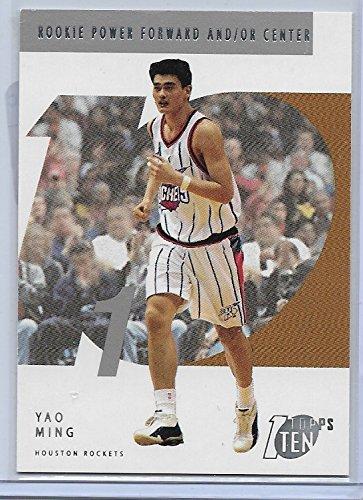- 2002-03 Topps Ten Basketball Yao Ming Rookie Card # 141