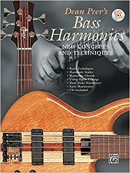 Book Bass Harmonics: New Concepts and Techniques (BassMaster) by Dean Peer (1999-06-01)