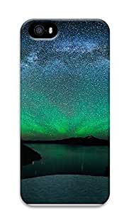 iPhone 5 5S Case Green Space Burst 3D Custom iPhone 5 5S Case Cover