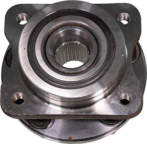 Plymouth Voyager Front Hub - APDTY 513122 Wheel Hub Bearing & Seal Fits Front Fits Left or Right On 14