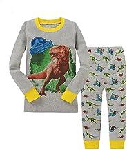 """kidsmall """"Dinosaur Baby Boys Cotton Pajama Set Sleepwear"""