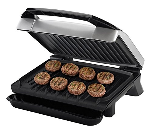 George Foreman GR0059P 120 Square Inch Healthy Cook Variable Temperature Grill