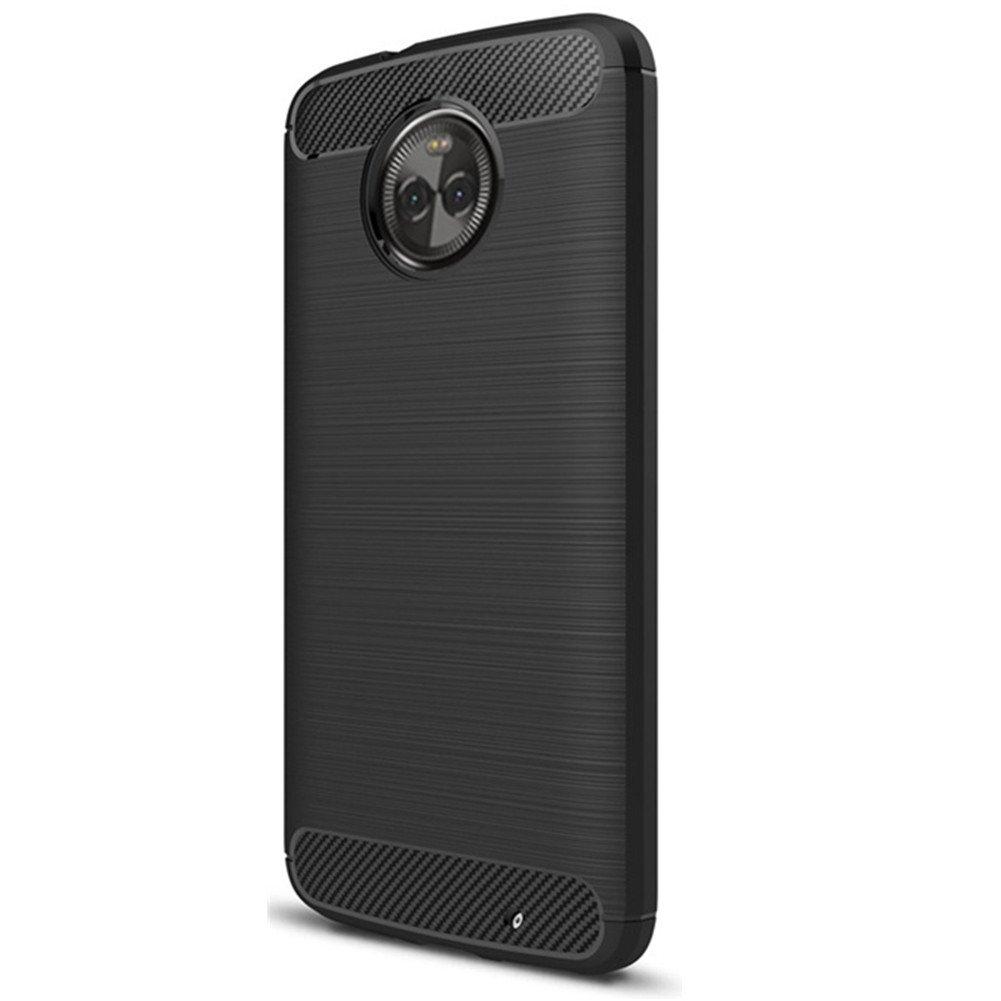 Moto X4 Case Dretal Shock Resistant Flexible Soft Tpu Tempered Glass Motorola E4 Plus Full Cover Warna Brushed Anti Fingerprint Body Protective For 2017