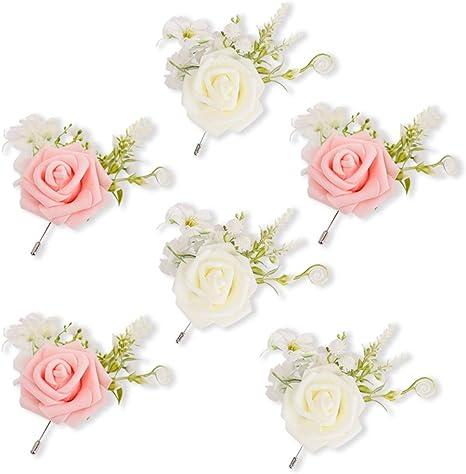 groomsmen buttonhole buttonhole groomsmen Boutonniere wedding party prom boutonniere wedding flowers wedding boutonniere groom