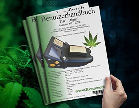 THC cáñamo Cannabis Marihuana cannabis THC Digital Analyzer ml de XXL: Amazon.es: Jardín