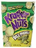 Kracker Nuts Dill Pickle, 6 Ounce (Pack of 12)