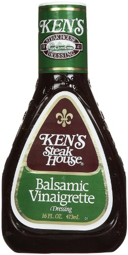 Balsamic Vinaigrette - Ken's Steak House Balsamic Vinaigrette, 16 oz