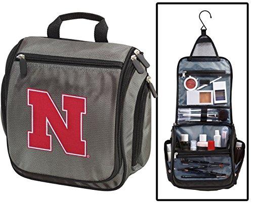 University of Nebraska Toiletry Bags or Mens Shaving Kits HA