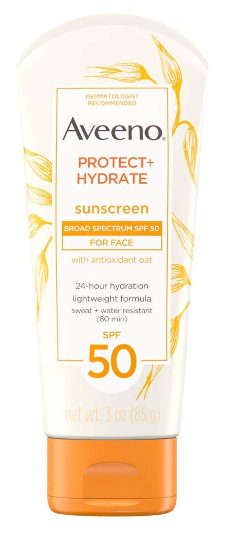 Aveeno Spf#50 Protect+Hydrate Lotion 3 Ounce (88ml) (2 Pack)