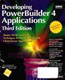 Developing PowerBuilder 4 Applications 9780672306952