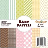 CrafTreat Paper Pack Baby Pastels (6x6)