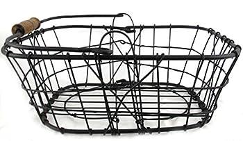 Iron Square Egg Basket (X-Large)