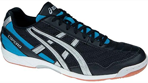 Asics Scarpe Calcetto Copero M Indoor Black/Silver/Royal (11.5)