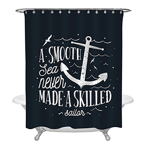 Anchor Sailor Shower Curtain