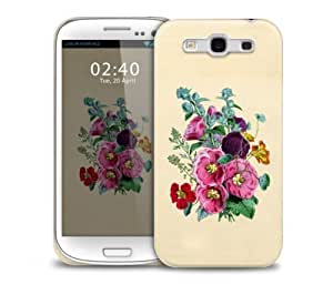Colourful Vintage Flowers Samsung Galaxy S3 GS3 protective phone case