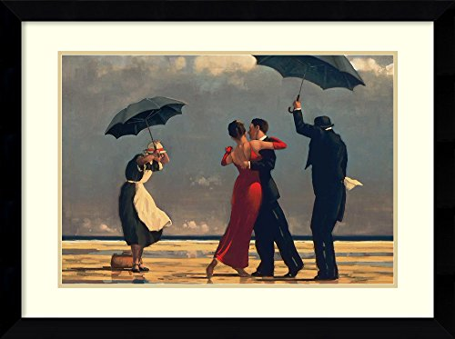 Framed Art Print, 'The Singing Butler' by Jack Vettriano: Outer Size 33 x 27