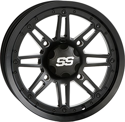 - ITP SS216 Wheel - 14x7 - 5+2 Offset - 4/137 - Black Ops, Bolt Pattern: 4/137, Rim Offset: 5+2, Wheel Rim Size: 14x7, Color: Black, Position: Front/Rear 1428543536B