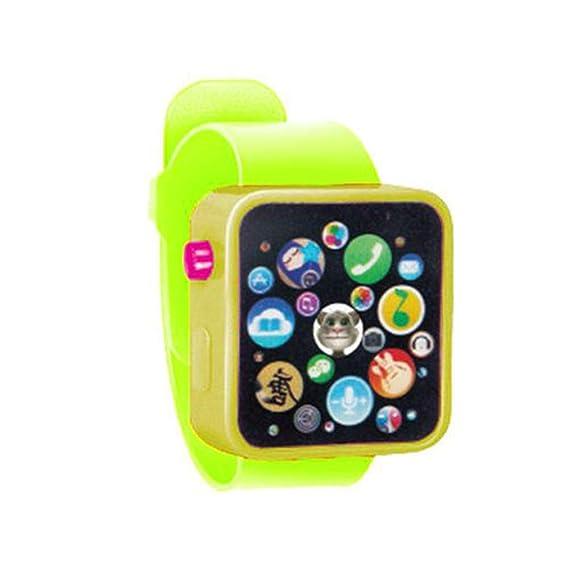 Reloj de Pulsera Digital para Hombres, con poemas y Cuentos de poemas para niños,