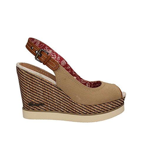 Comprar barato Popular Zapatos beige WRANGLER para mujer Dónde comprar bajo precio Comprar Mejor venta barata en línea Vffvt