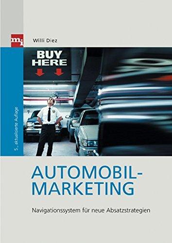 Automobil-Marketing. Navigationssystem für neue Absatzstrategien