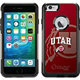 Coveroo Commuter Series Cell Phone Case for iPhone 6 Plus - Retail Packaging - University of Utah Watermark
