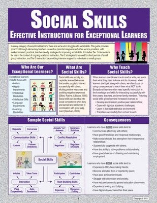 Social Skills Effective Instruction for Exceptional Learners