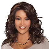 Vivica A. Fox GOLDIE-V New Futura Fiber, Deep Lace Front Wig in Color P42730