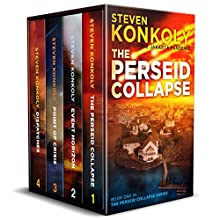 The Perseid Collapse Series Boxset: Books 1-4 Audiobook by Steven Konkoly Narrated by John David Farrell