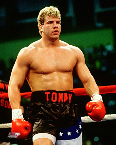 Tommy Morrison Boxing Action Photo (Size: 8