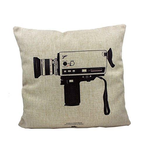 Embrace Retro Square Throw Pillow
