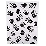 LJSLYJ Handprint Embossed Plastic Cake Fondant Mold Textured Sugarcraft Sheet Mousse Molds Kitchen DIY Baking Decorating Tools