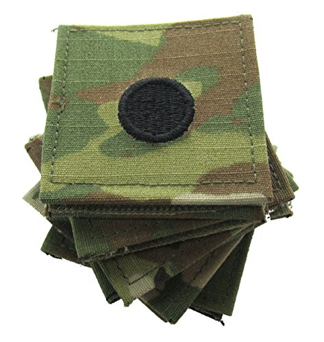 (2nd Lieutenant Army ROTC Rank with Hook for OCP Uniform - 10 PACK)