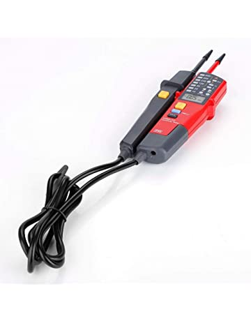 Rango automático Medidor de voltaje UT18C Detector de LCD/LED Multímetro digital Voltaje Continuidad RCD