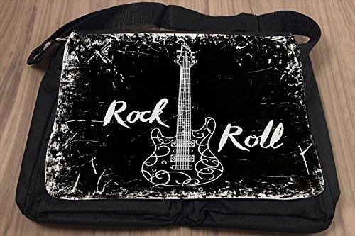 Borsa Tracolla Cinema Rock n roll Stampato