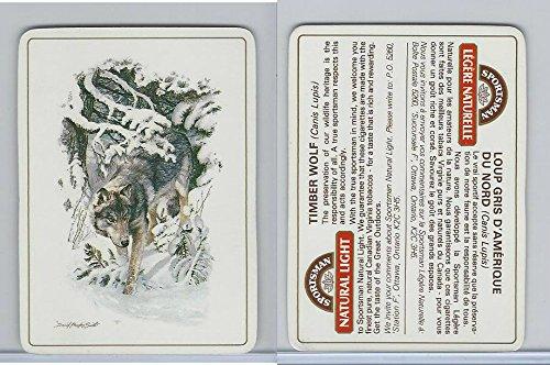 C18-0 Carreras, Wild Animals, 1985, Timber Wolf