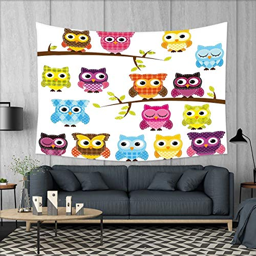 smallbeefly Nursery Tapestry Wall Hanging 3D Printing Set of